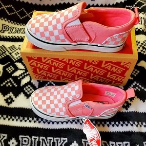 Vans Sneakers Toddler Size 9 Nwt